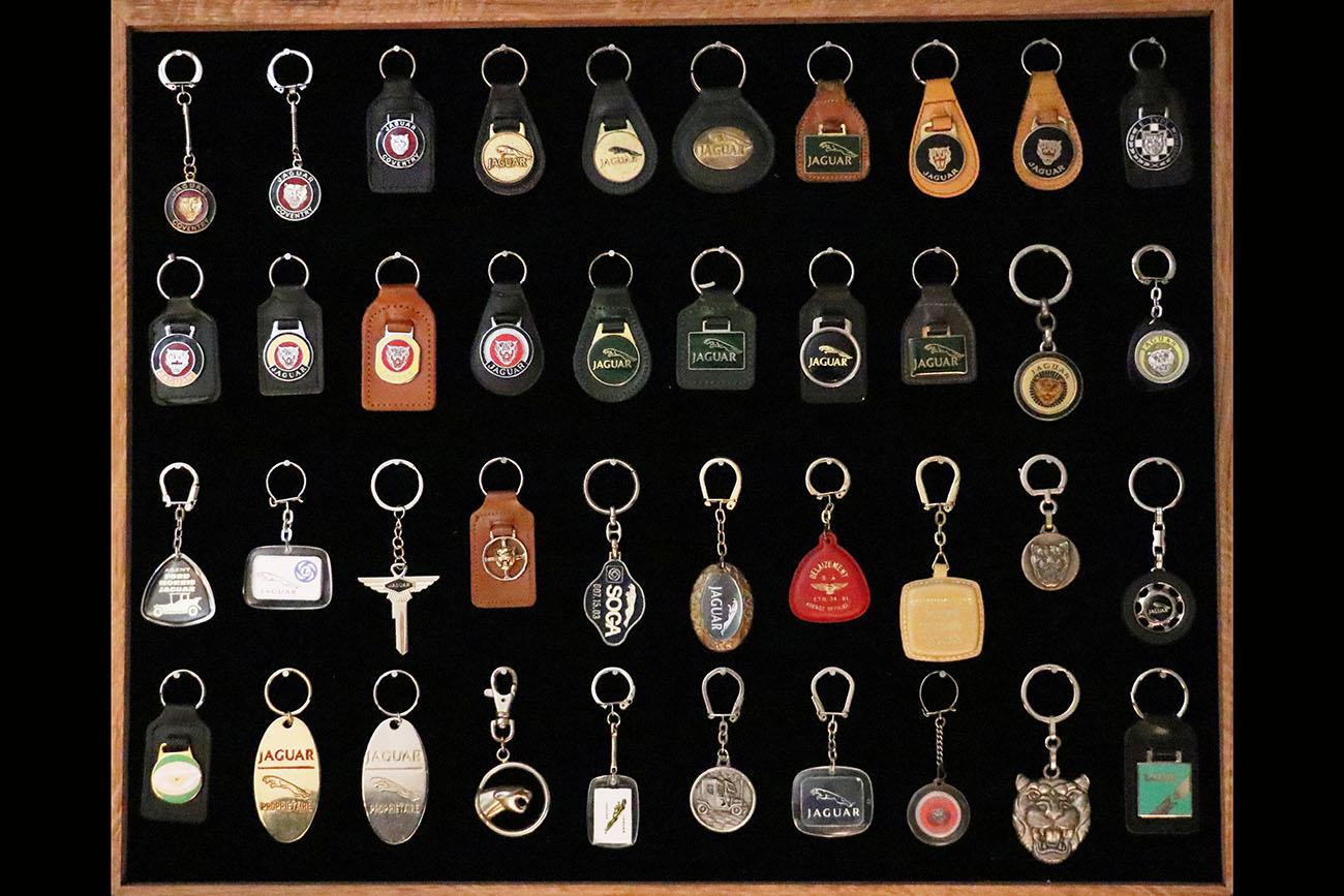 Porte-clefs Jaguar, F.J.D.C., Delecroix, Royal-Elysées