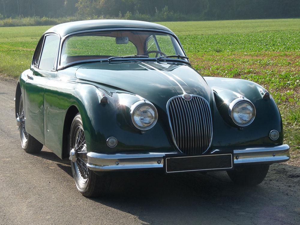 Jaguar xk150-fhc